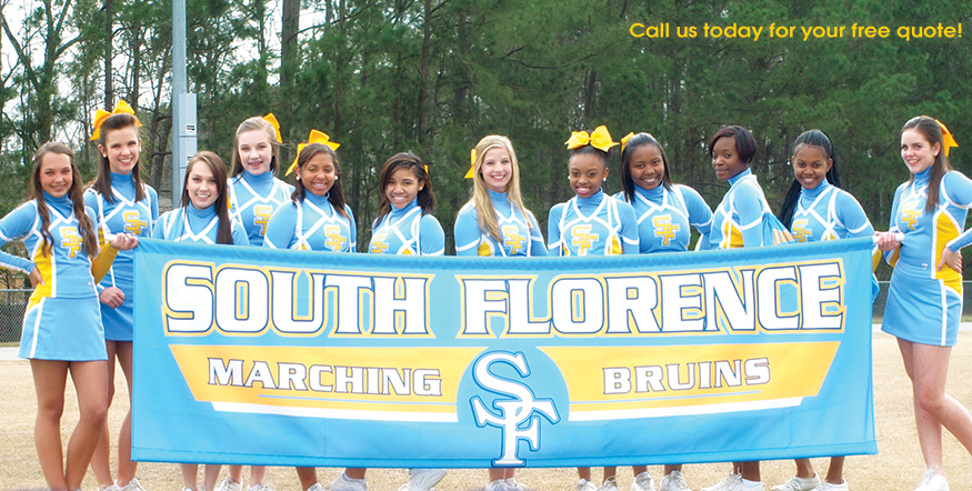 Band Cheer Parade Banner 02